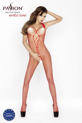 Bodystocking Rouge BS014R - Pink Monkey
