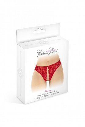 String rouge ouvert...