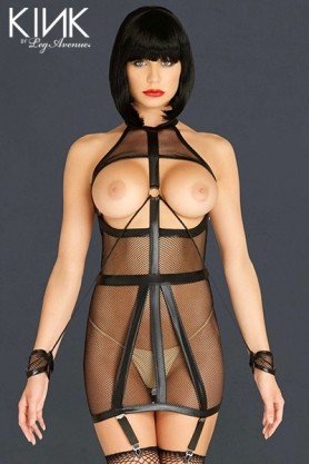 Robe Bondage Garter Dress