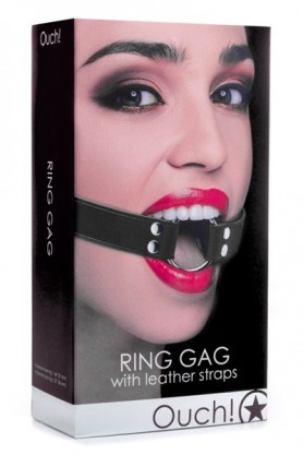 Baillon BDSM Ring Gag - Ouch!